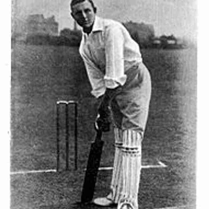From the Archives - Wisden Cricketer of the Year - Arthur Owen Jones