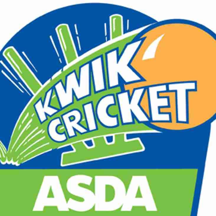 KWIK Cricket Coaching Cancelled This Week!