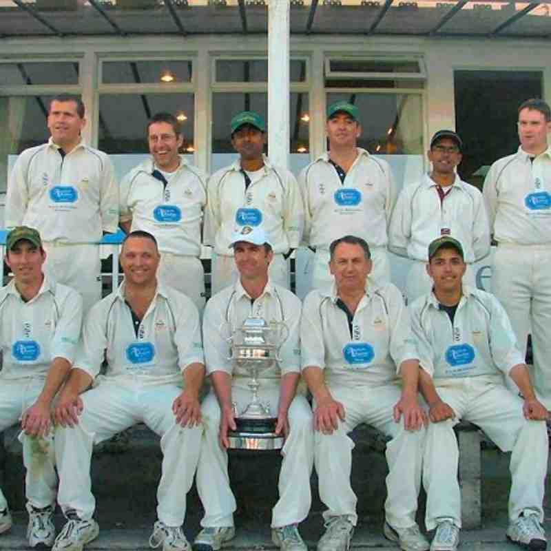 Cults 1st XI Aberdeenshire Cup Winners 2004