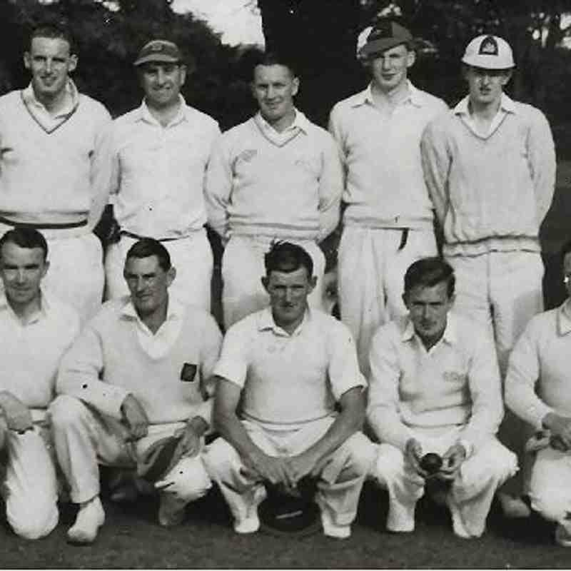 Cults 1st XI Bon Accord Cup Winners 1952  Back Row : I.Middleton, Larry Kinnaird, Donald Yeats (Snr), Bill Downie, P.Anderson  Front Row : W.Duthie, Doug Calder (Capt), R.Calder, S.Davidson R.Simon  Absent : W.Duncan