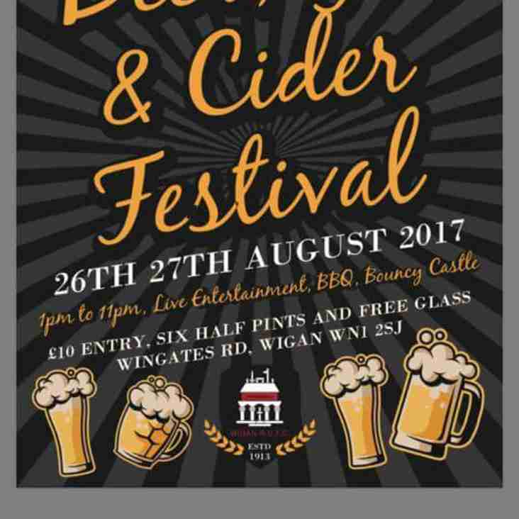 Beer, Gin and Cider Festival