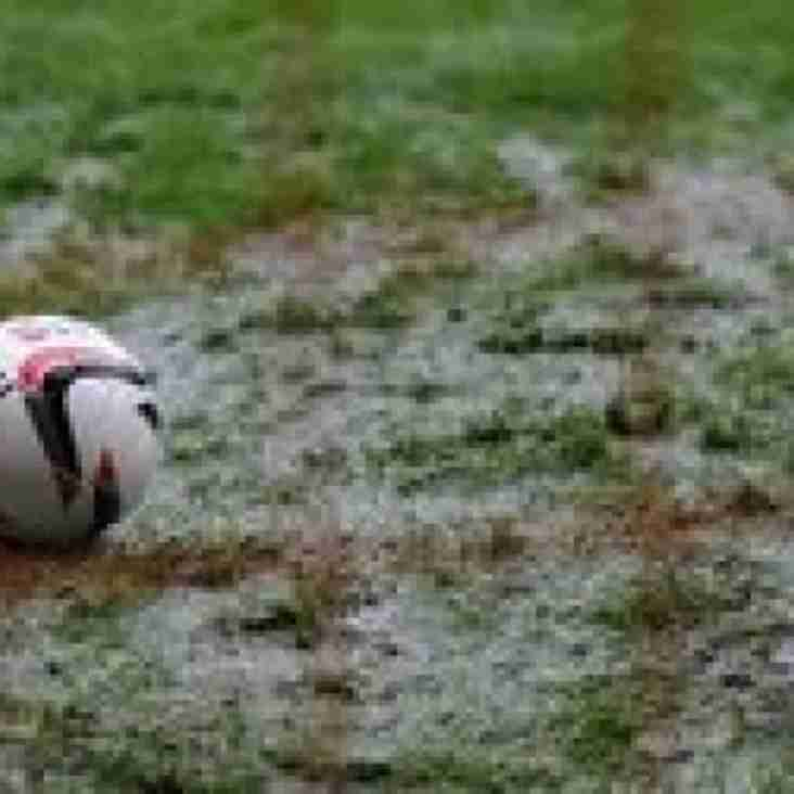 Matches Postponed
