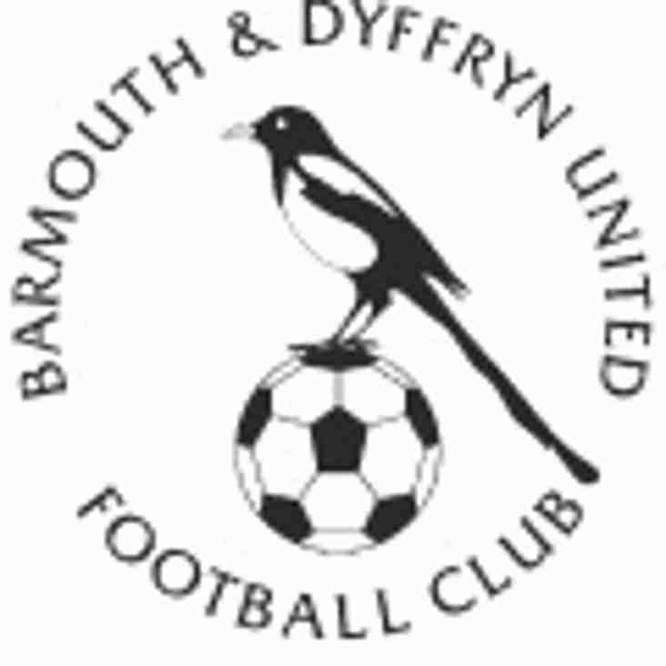 Barmouth & Dyffryn United FC Reach Cookson cup final