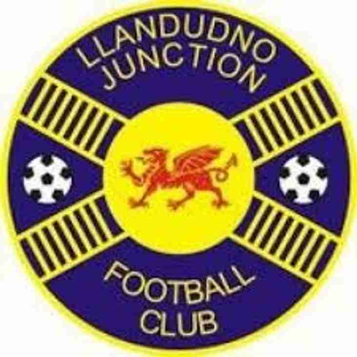 Llandudno Junction accept promotion to Cymru Alliance