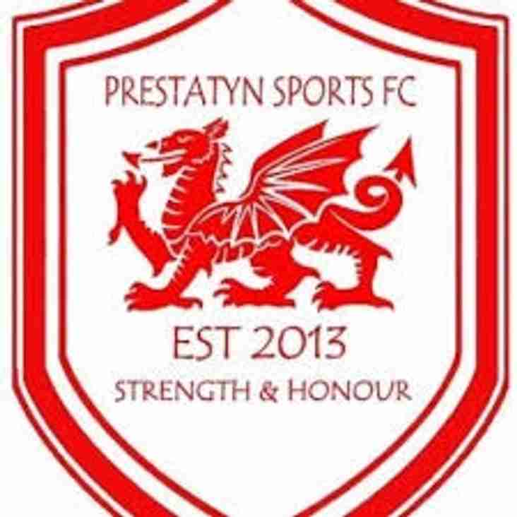 Prestatyn Sports win Division two Title