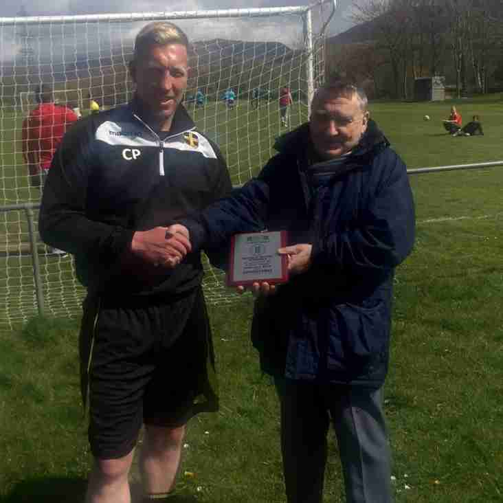 Manager of the month award