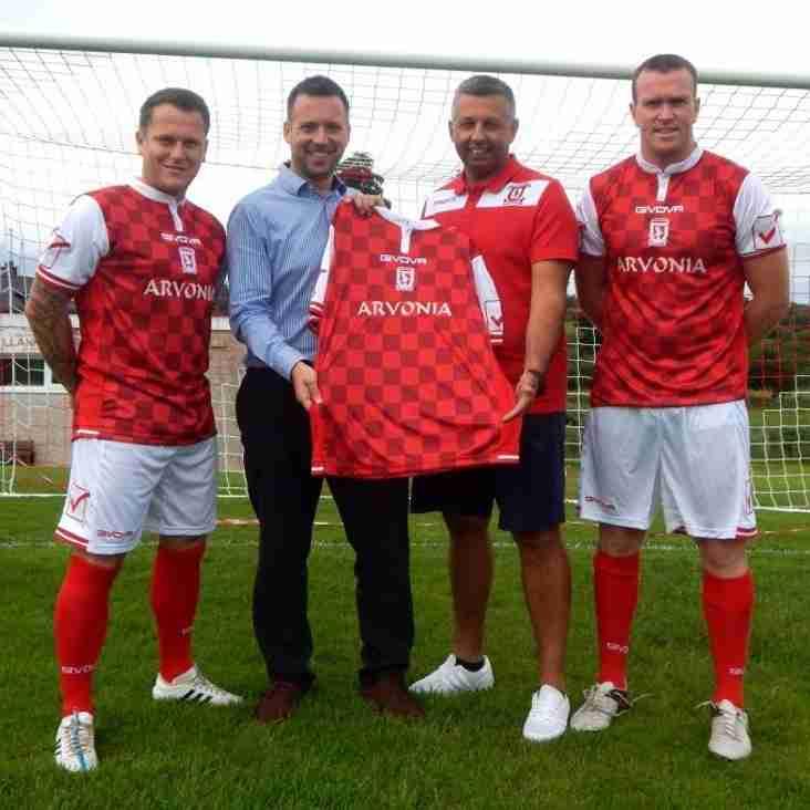 Llanrug Utd New Kit Sponsors