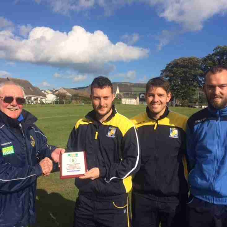 Queensferry Sports Manager of the Month