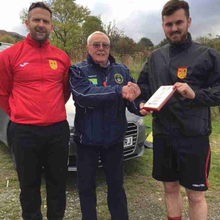 Division Two Manager of the Month Award