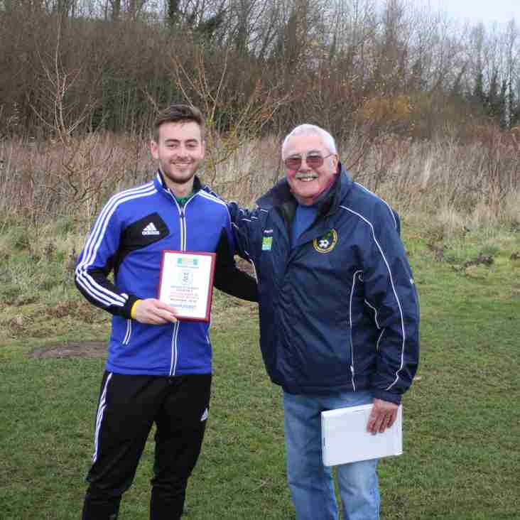 Queensferry Sports Manager of the Month Award