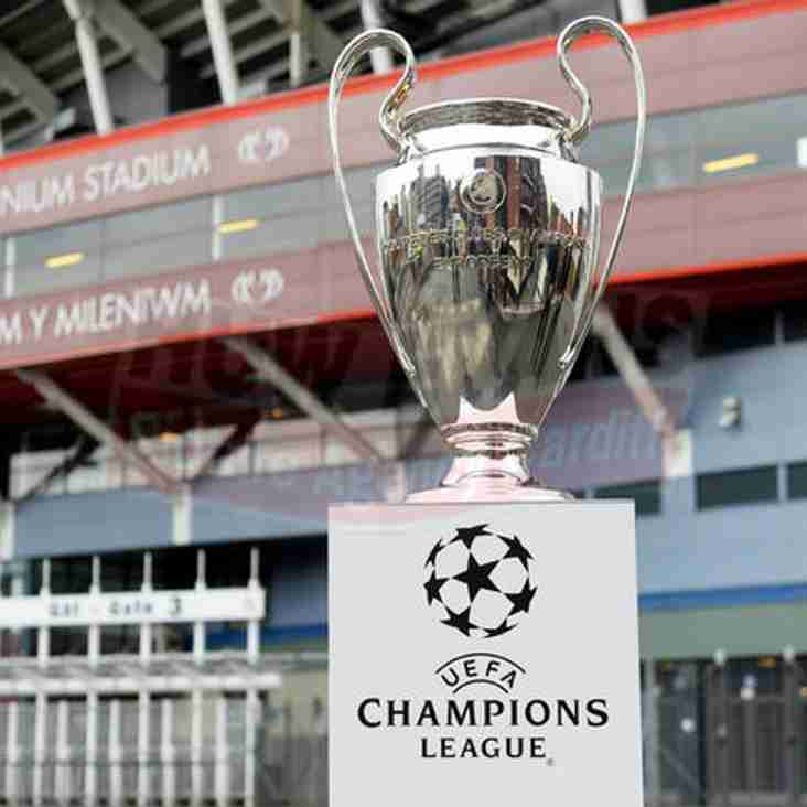 Champions league Trophy visits North Wales