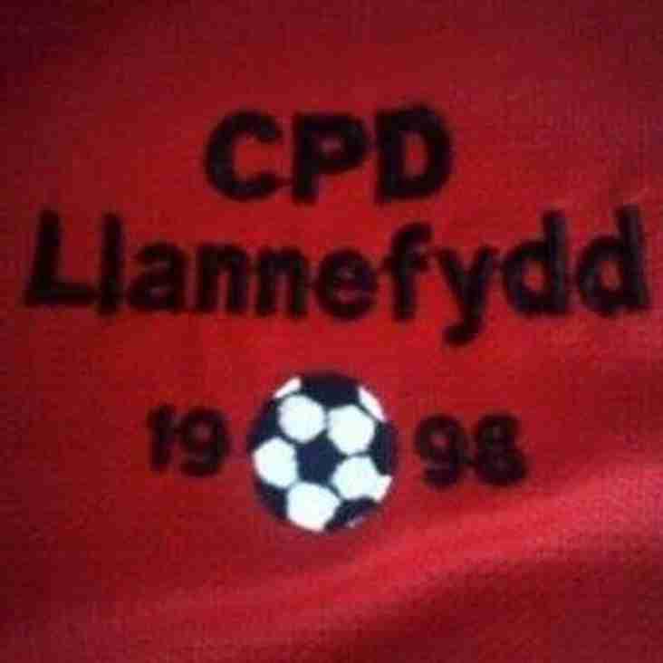 Llannefydd win the Vale of Clwyd & Conwy league