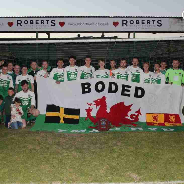 Bodedern Athletic win the Gywynedd League