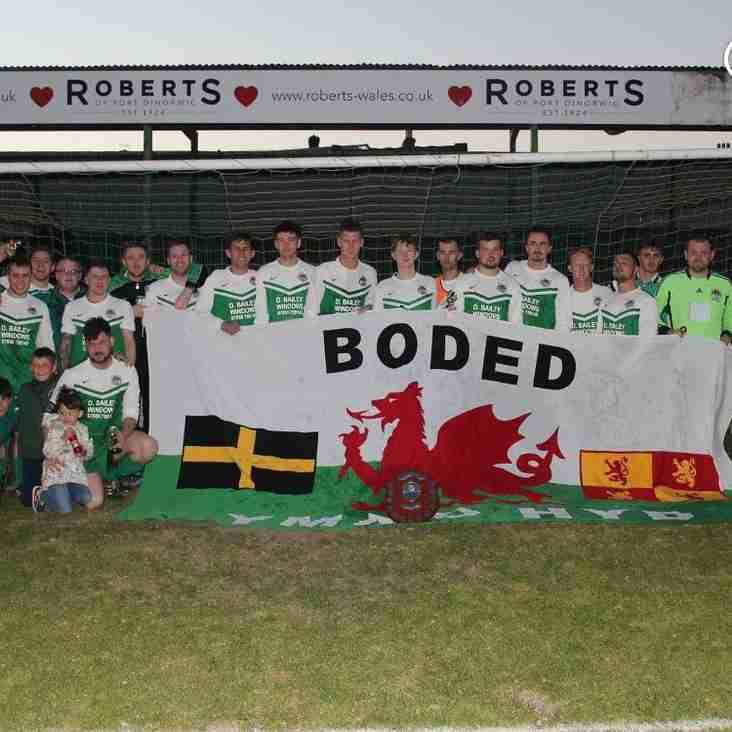 Bodedern Athletic win the Gywynedd League