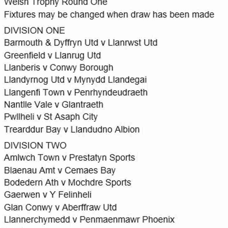 Opening weekend fixtures