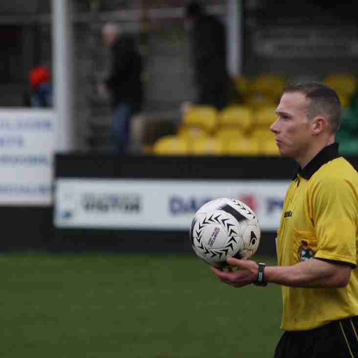 New Referee's course set for Rhyl Area