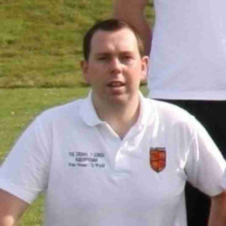Queensferry sports Division Two manager of the month for February