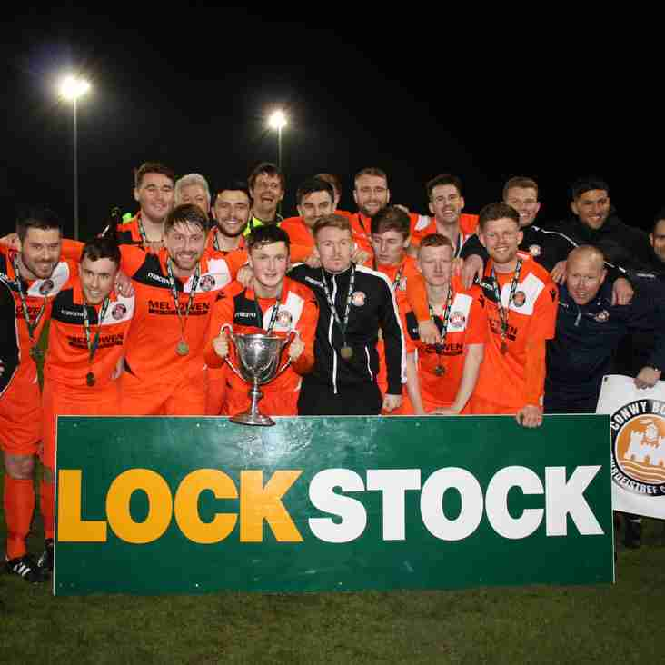 Conwy Borough Win Cookson Cup