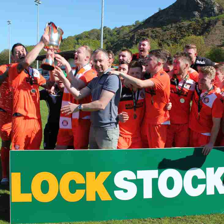 Conwy Borough Presented with Champions trophy