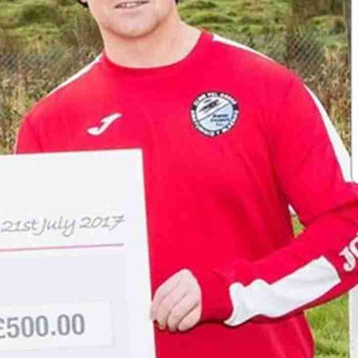 Queensferry Sports Division Two Manager of the month for August