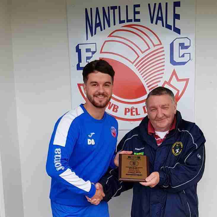 Queensferry Sports Division One Manager of the month for August