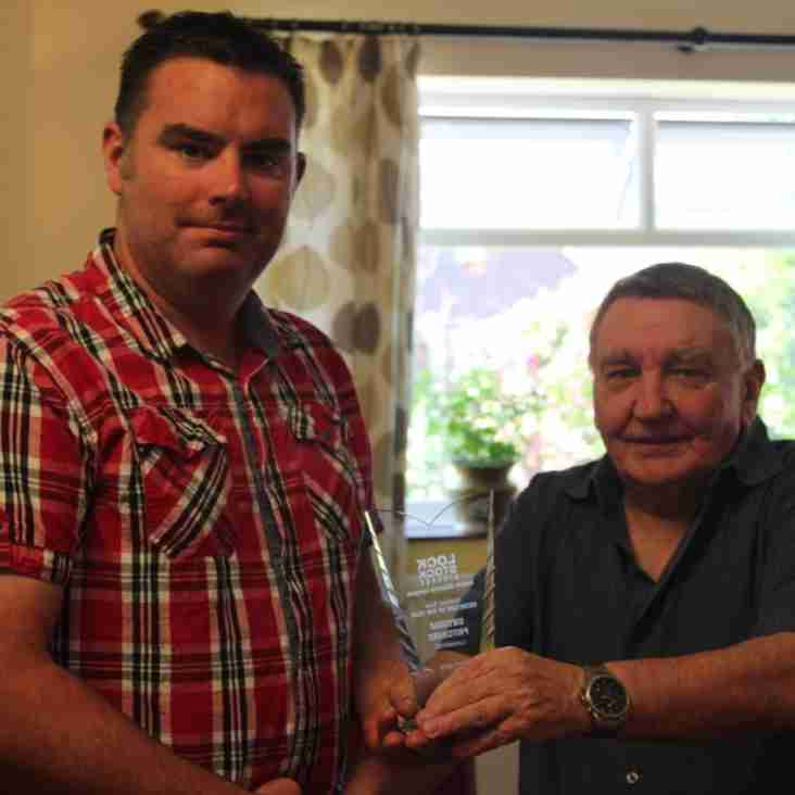 Queensferry sports division Two manager of the month for September