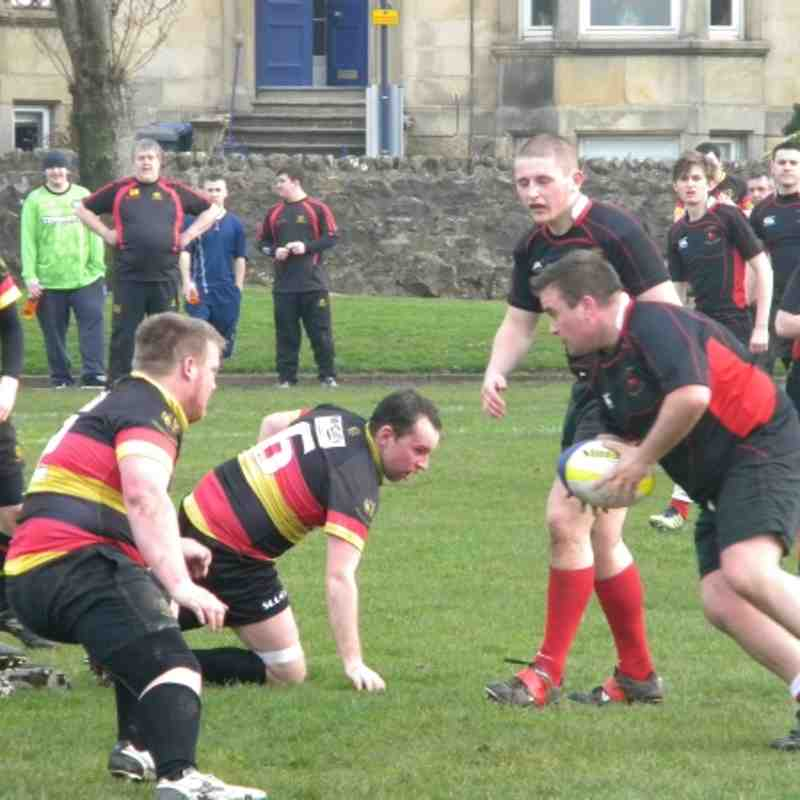 Greenock 2nd's v Clydebank 2nd's 24th March 2012