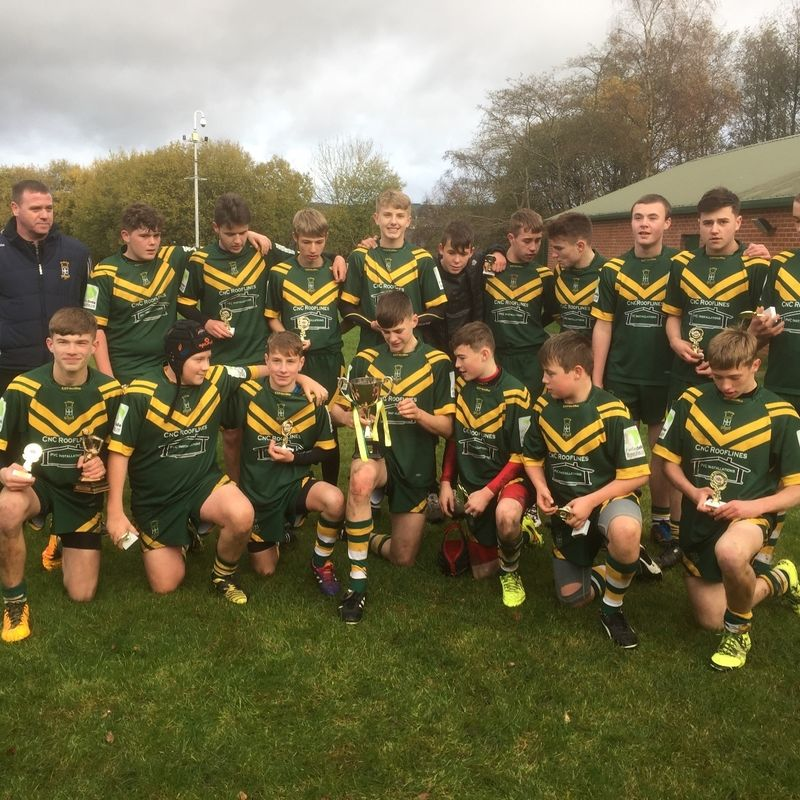 U15s lose to Woolston Rovers Greens 30 - 12