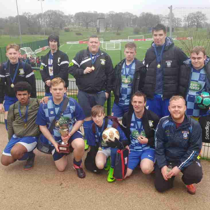 DOUBLE SUCCESS FOR LEEK TOWN ACFC TIGERS
