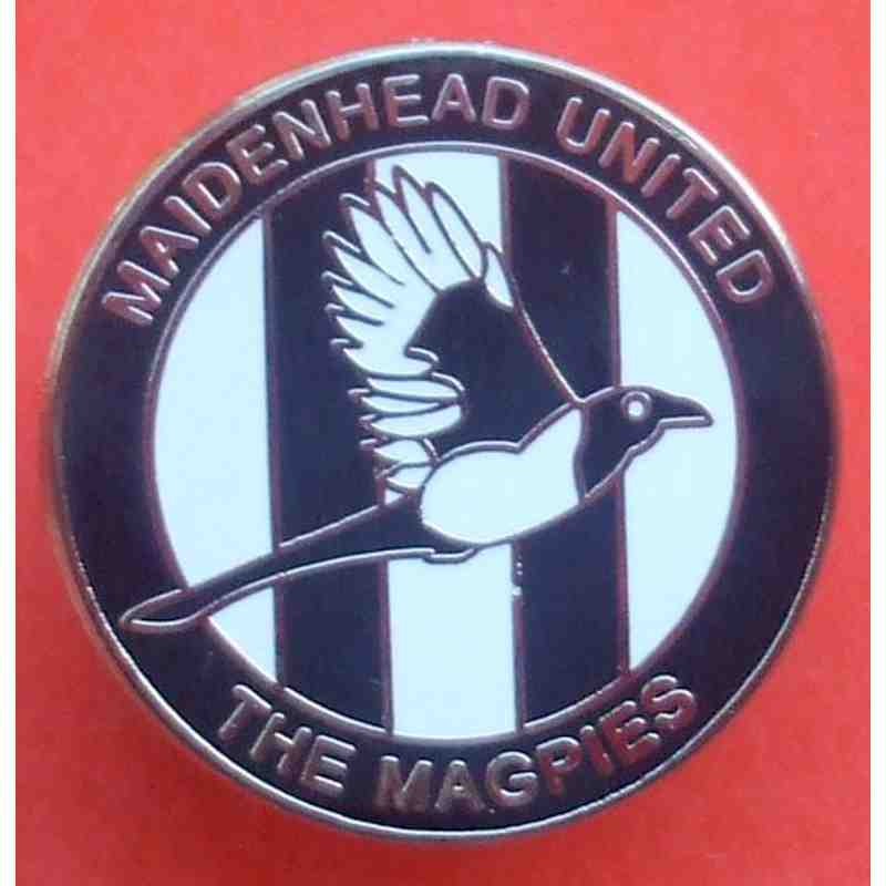 Official Enamel Badge with Magpie Logo