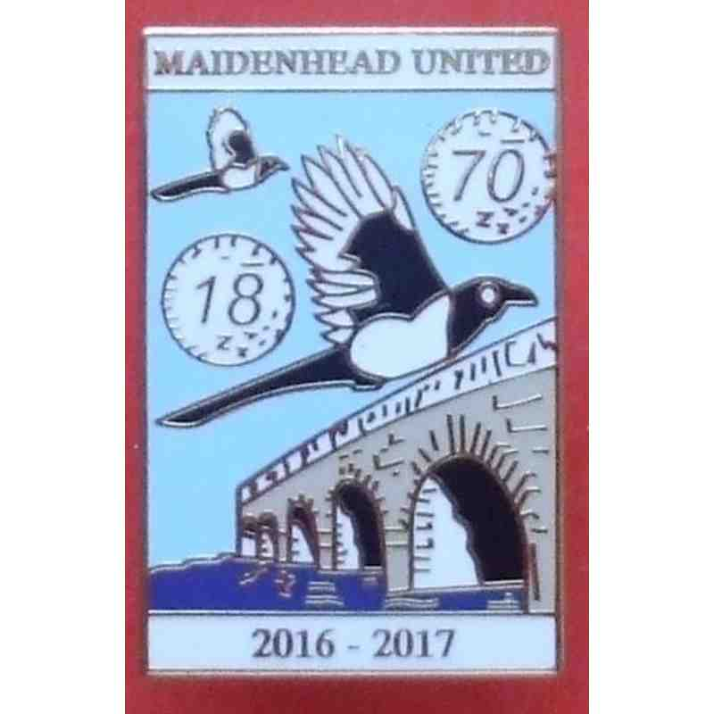 2016-17 season Official Enamel Badge
