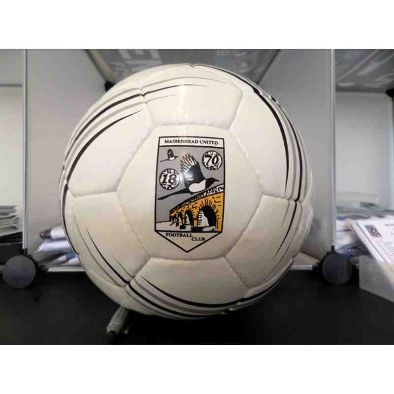 Football with Club Badge