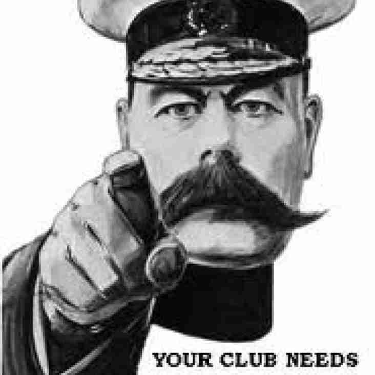 Your Club Need you -URGENTLY