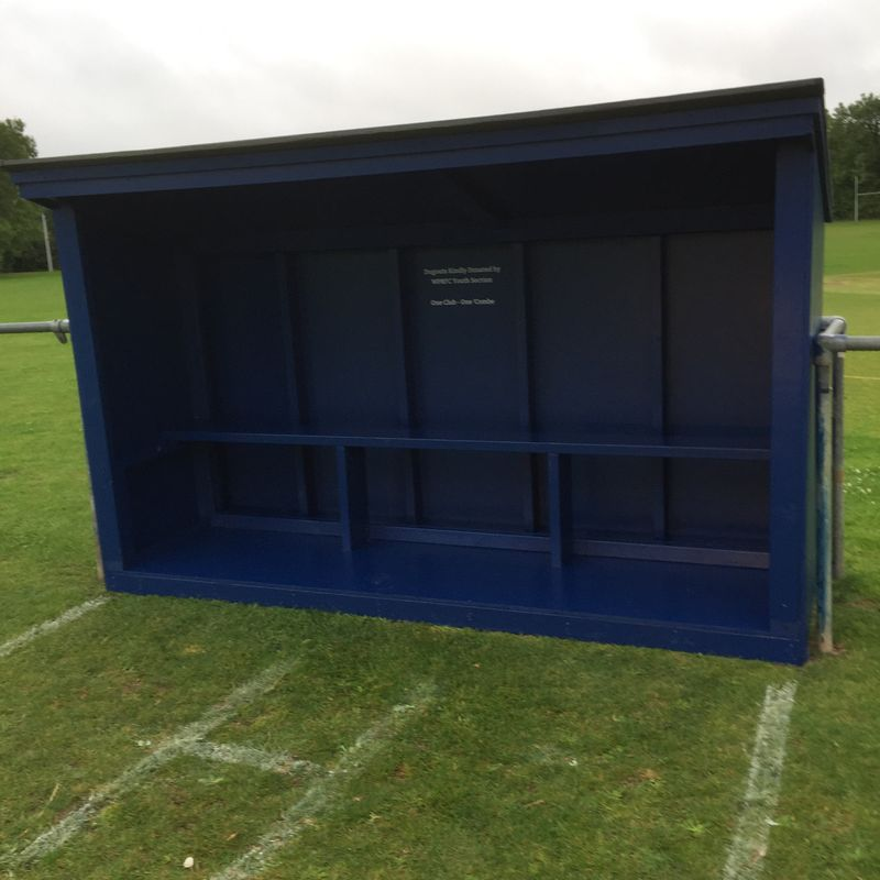 New dugouts for Combe