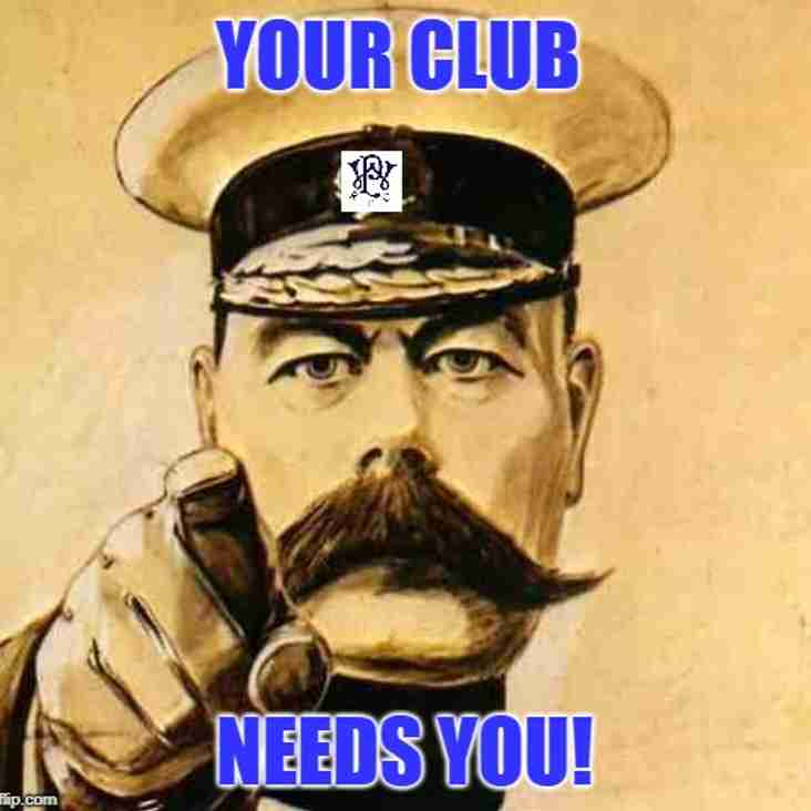 We Need You. Westcombe Park v Tring, Saturday 21st April, 3pm kick off