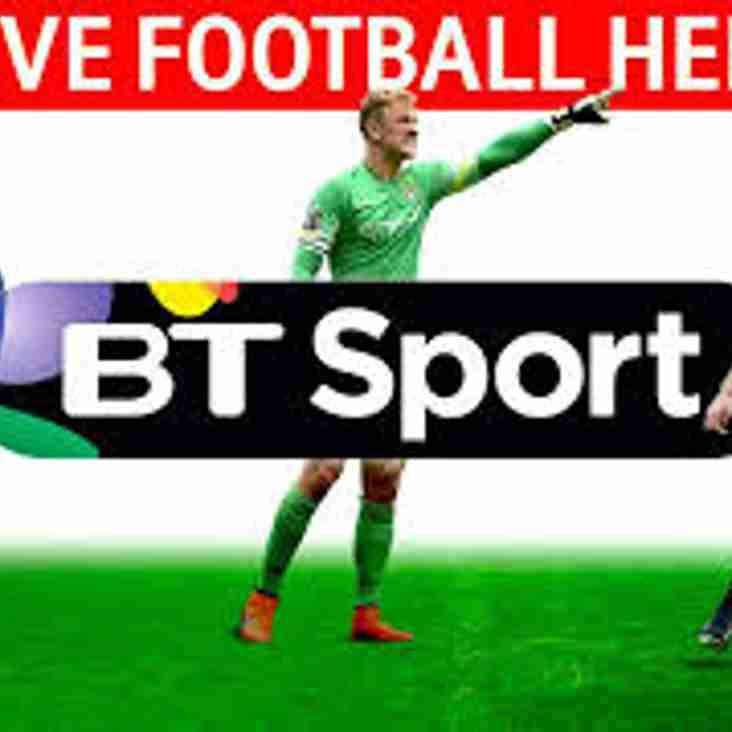 LIVE BIG SCREEN FOOTBALL BACK AT HARROGATE RAILWAY