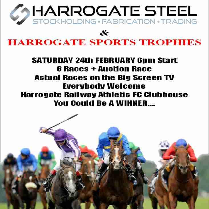 Harrogate Railway Race Night