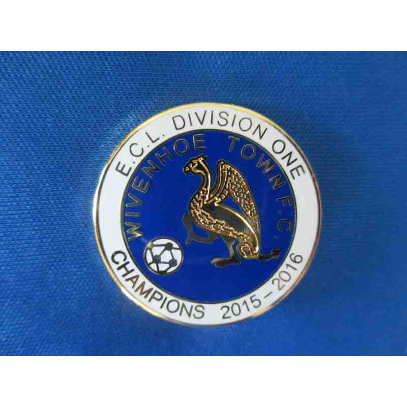 Div One Champions Lapel Badge