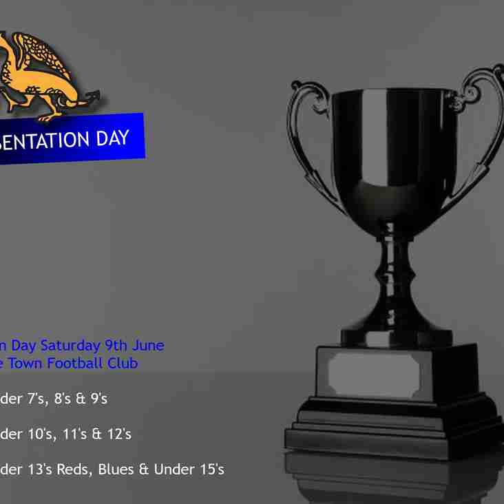 Wivenhoe Town Youth Presentation Day