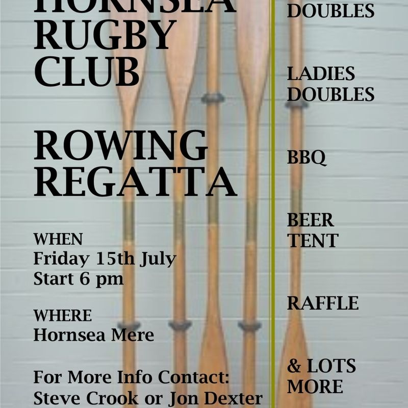 Rowing Regatta - Friday 15th July