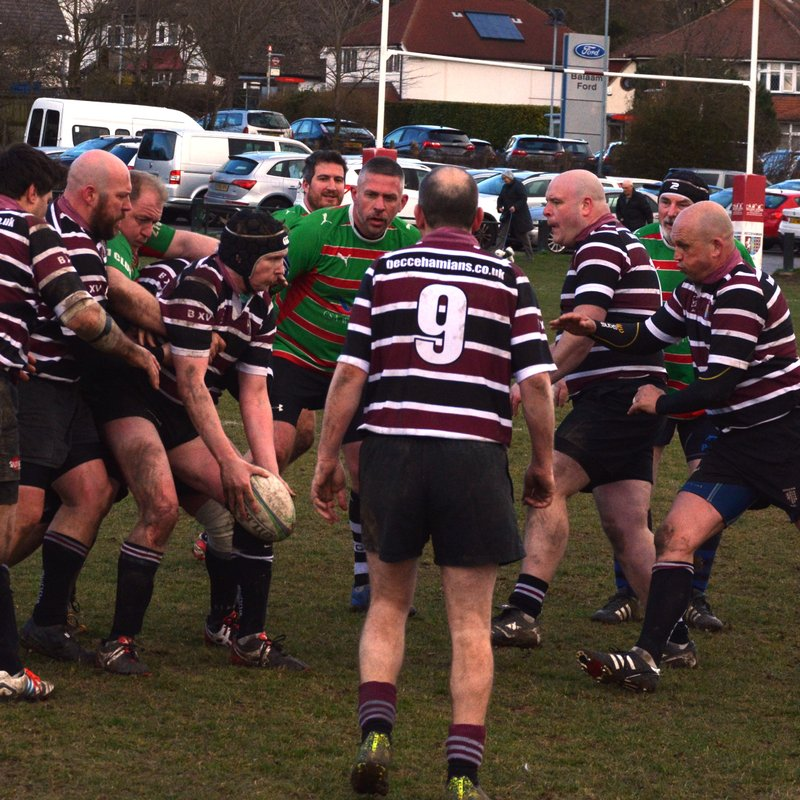 Sunday 11th February 2018 - Beccehamians Vets vs Old Gravesendians Vets