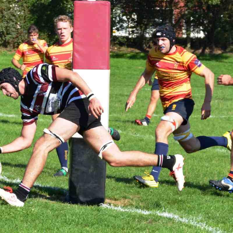 Beccs 1st XV v Medway 2nd XV - 01/09/18 (won 45 v 7)