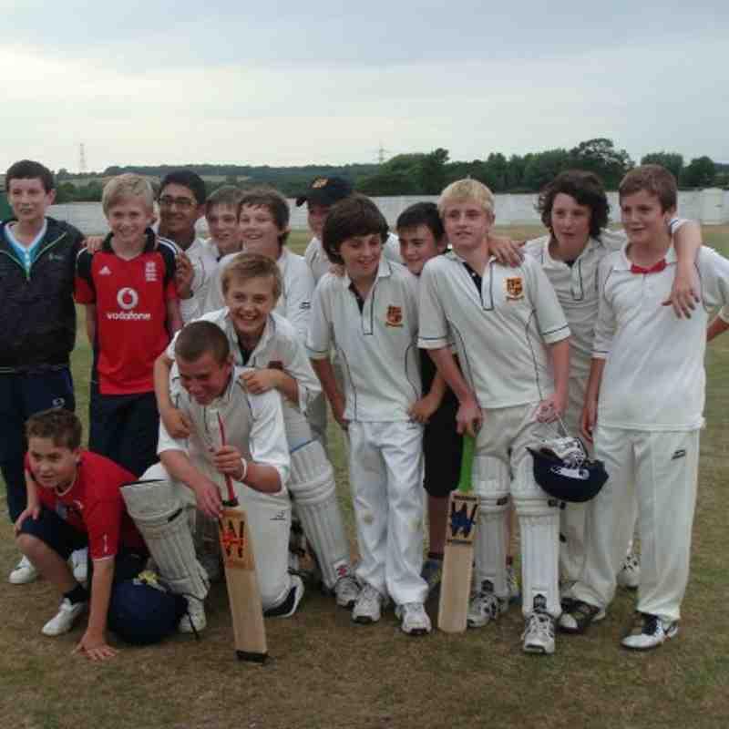 u13s cricket 2010.