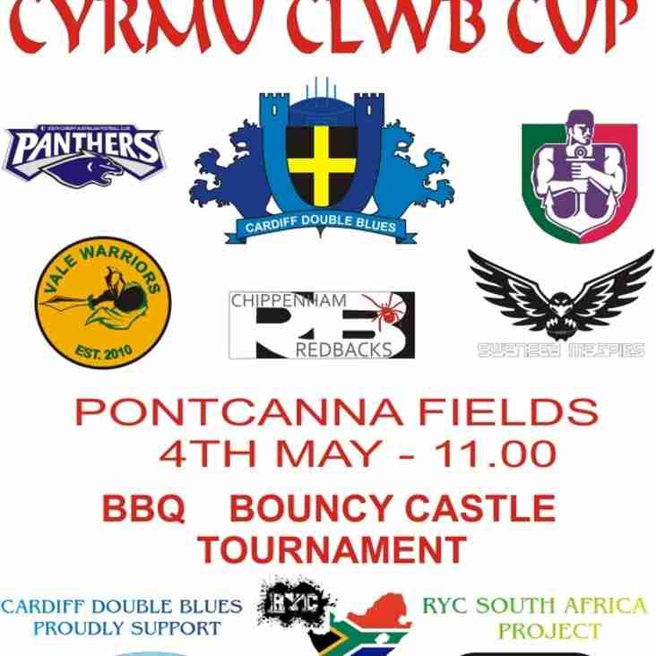 Double Blues host Cymru Cup 2013