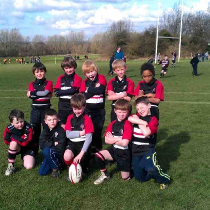 Brods U8s Squad Photo 18th March 2012