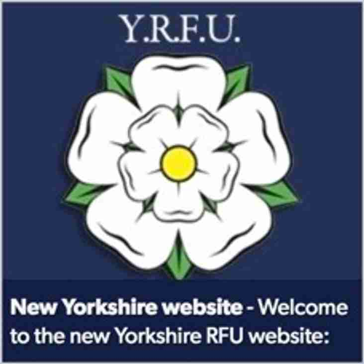 YRFU New Website - Stay in Touch with our county and competition regulations