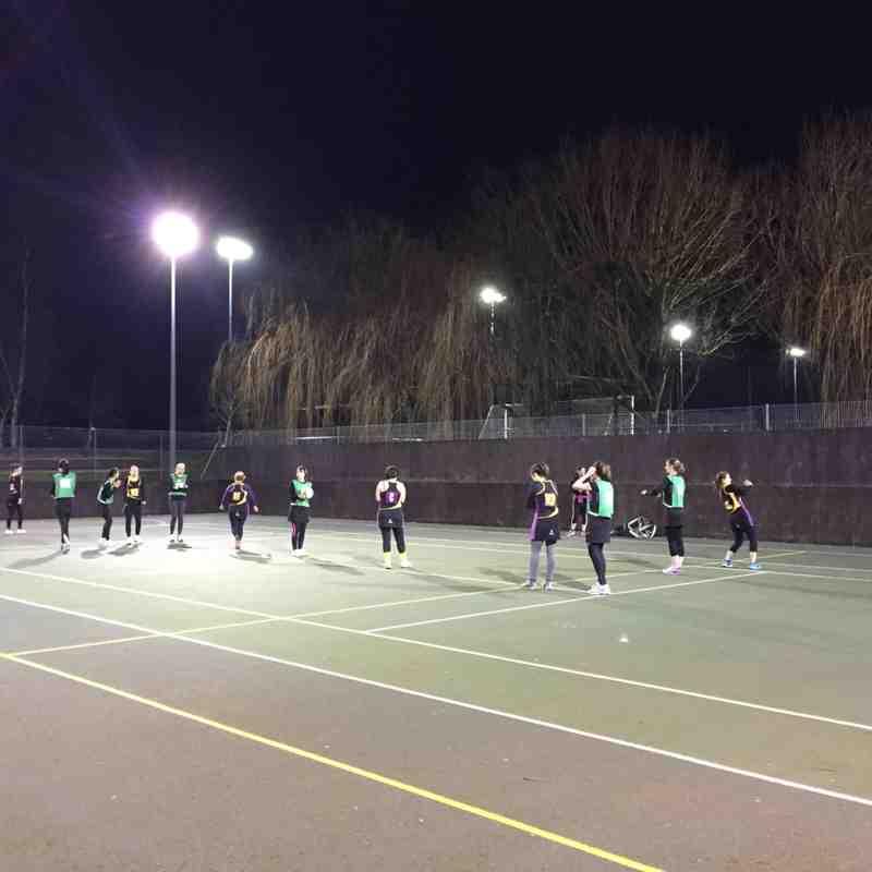 Woking league 27/01/15 against Woking Wizards