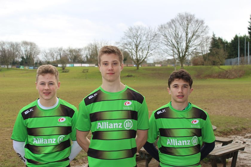 U15'S SELECTED FOR SARACENS ACADEMY