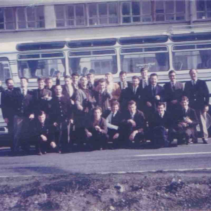 Lydney RFC Ostend April 1965