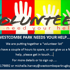Westcombe Volunteers needed during August
